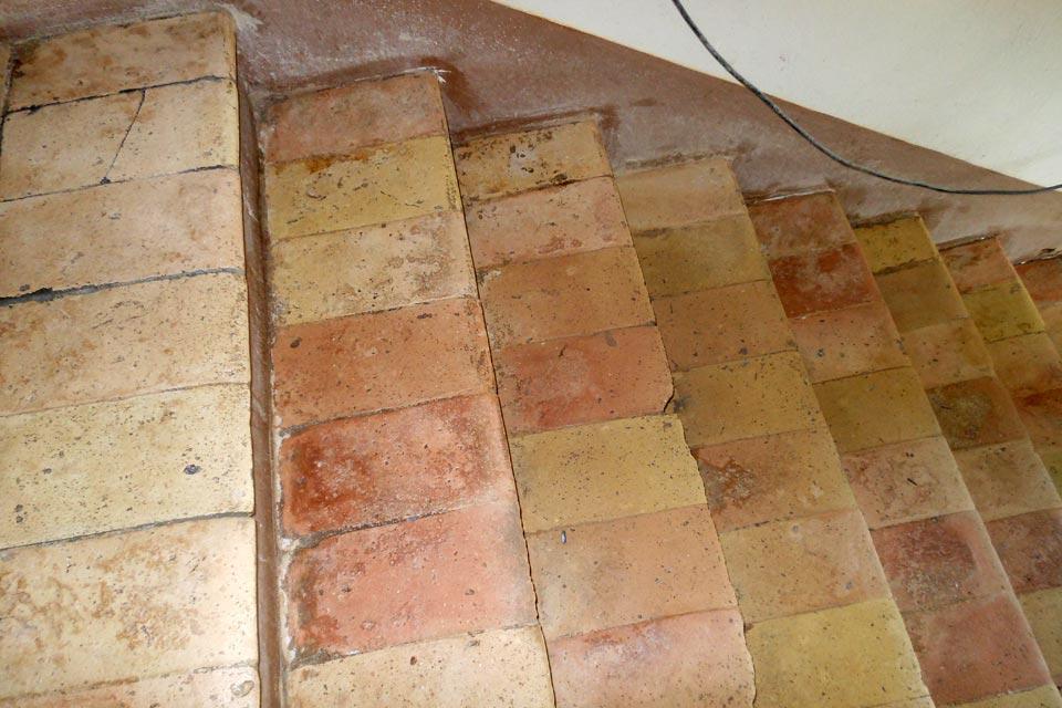 Maurizio corneti trattamento e restauro pavimenti - Cotto per scale ...